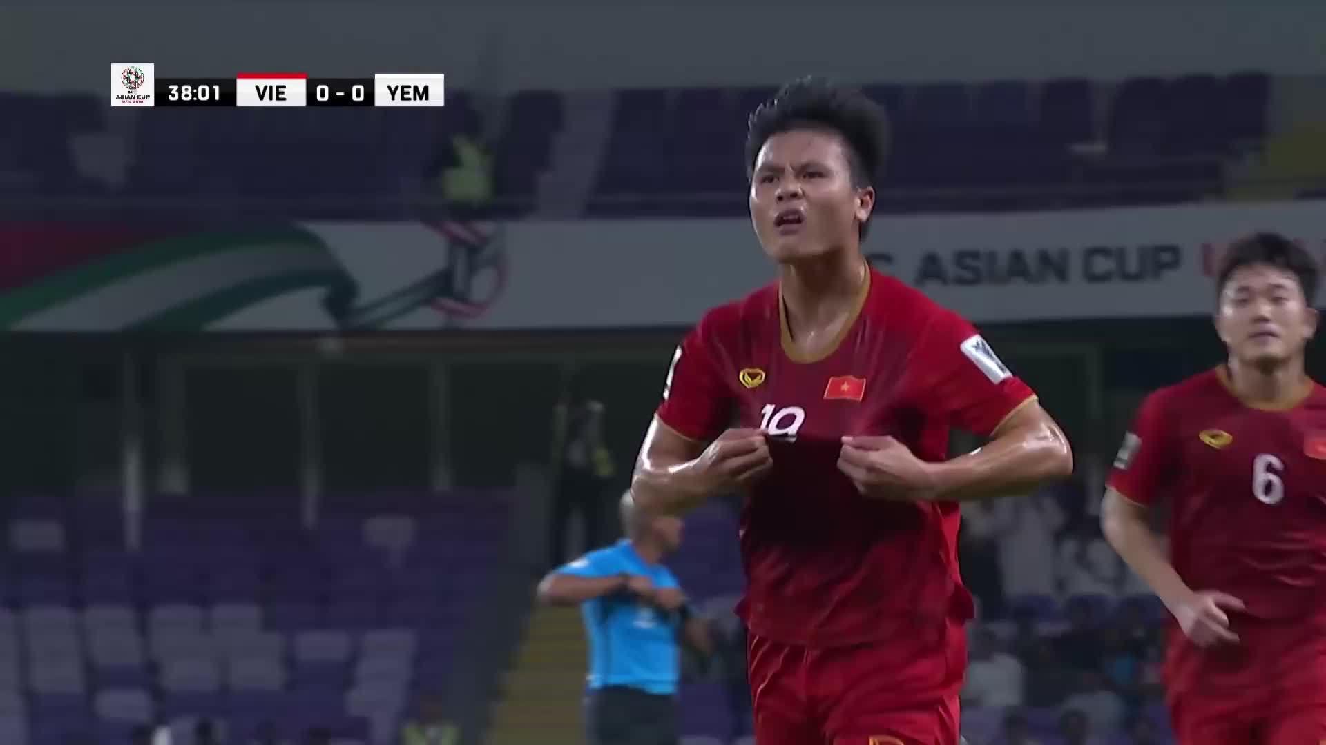 Những pha ghi bàn của Việt Nam ở Asian Cup