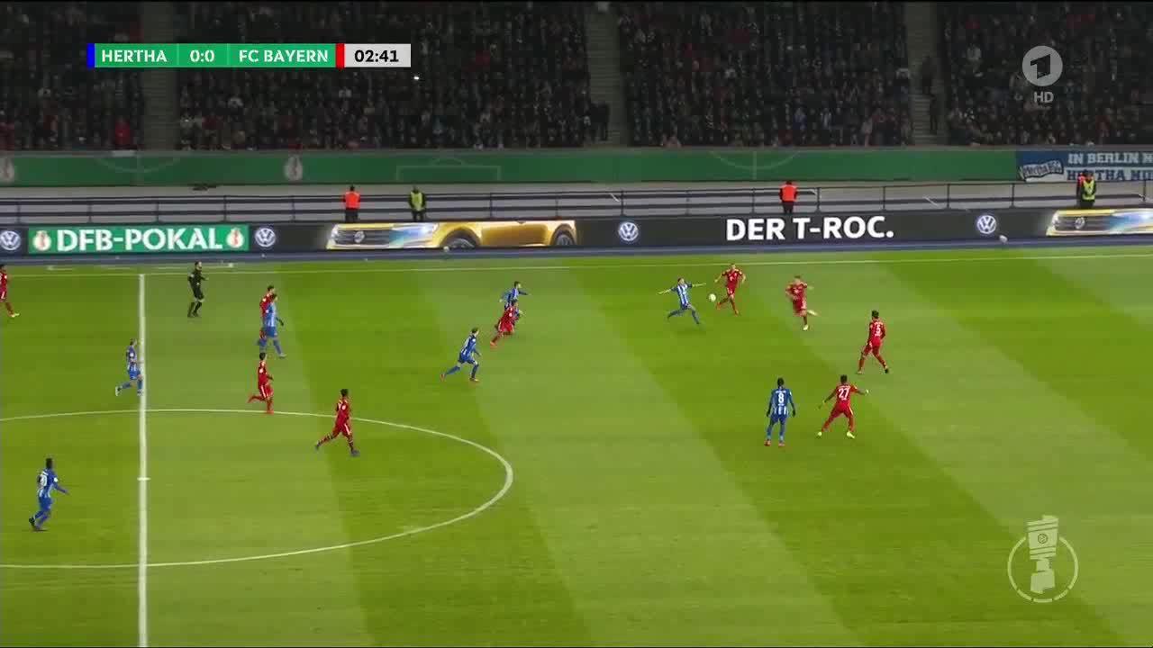 Hertha 2-3 Bayern