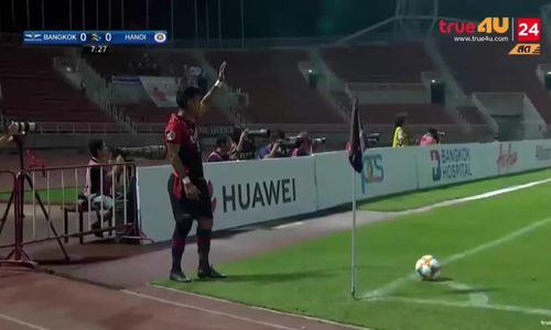 Bangkok Utd 0-1 Hà Nội