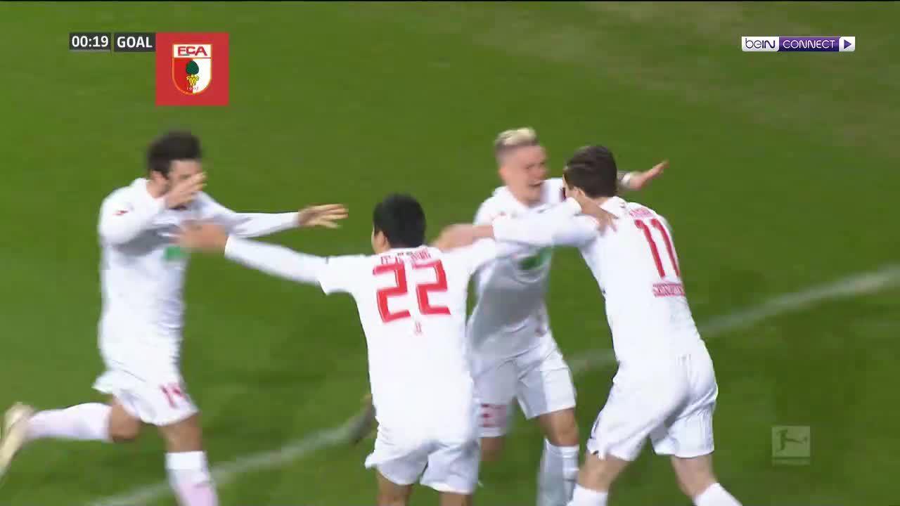 Augsburg 2-3 Bayern