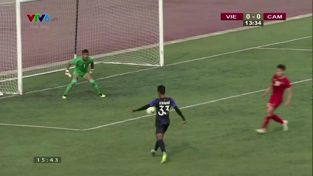 U22 Việt Nam 1-0 U22 Campuchia