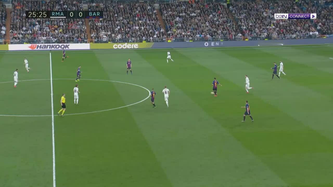 Real Madrid 0-1 Barcelona