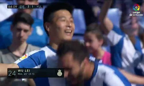 Tiền đạo Trung Quốc đi vào lịch sử La Liga