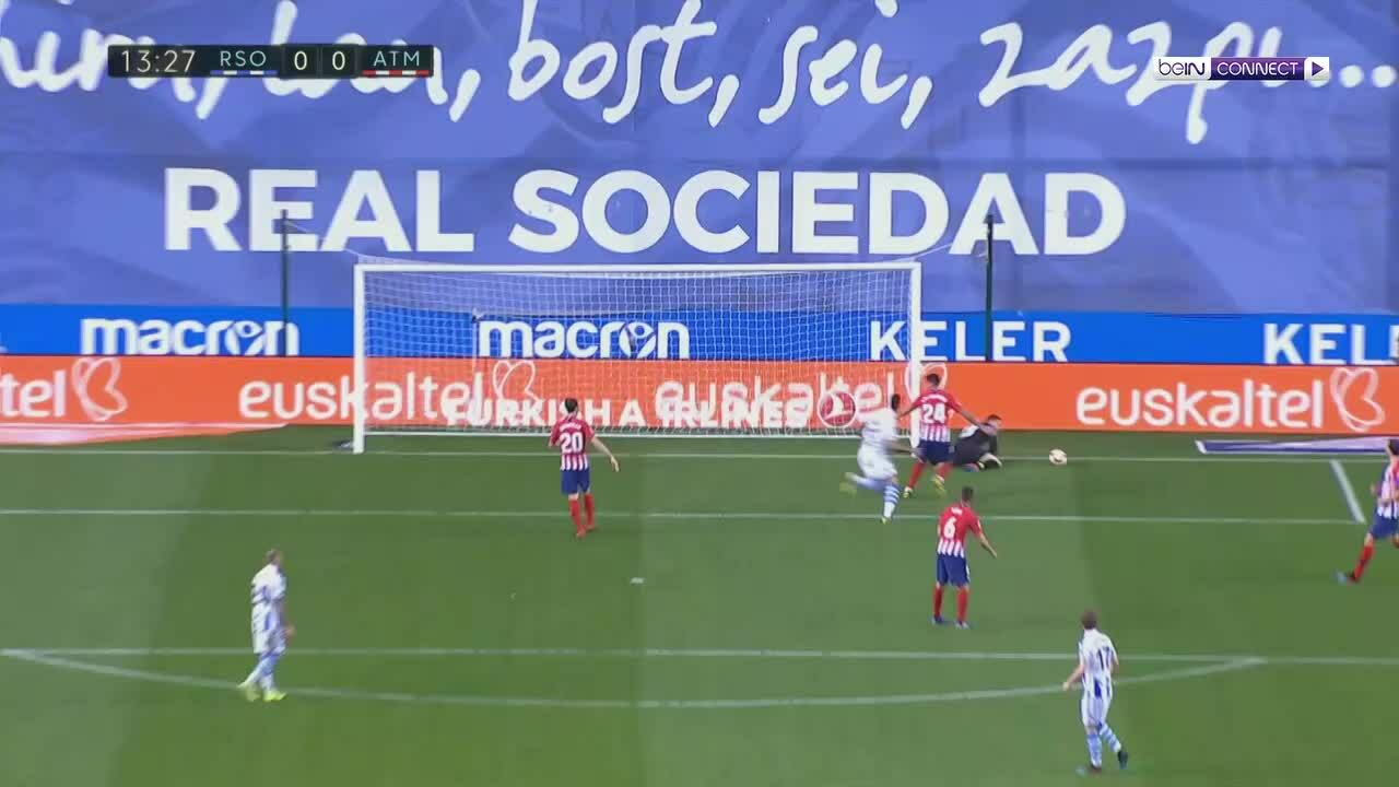 Real Sociedad 0-2 Atletico Madrid