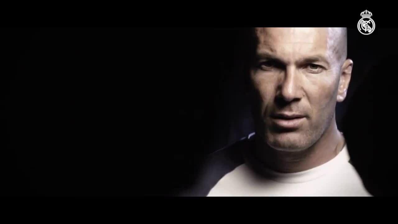 Real làm video chào đón Zidane trở lại