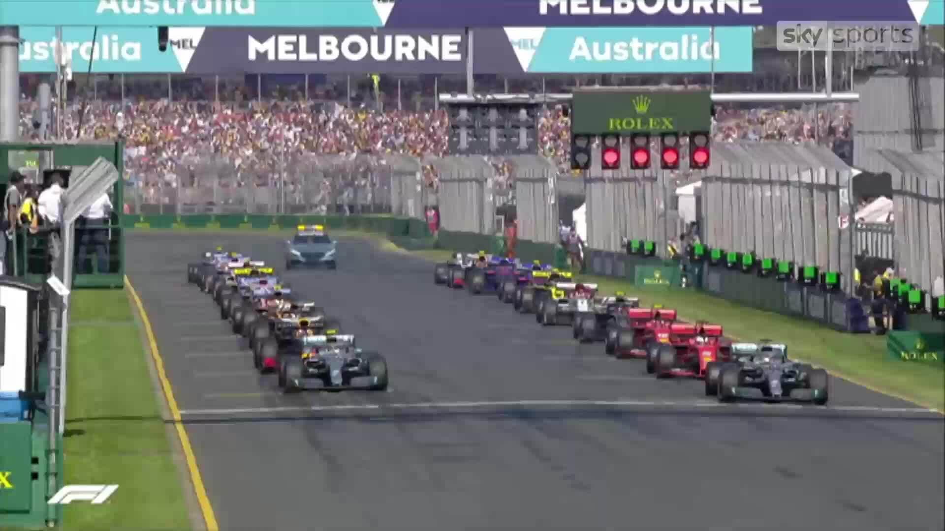Bottas đăng quang F1 Australian GP