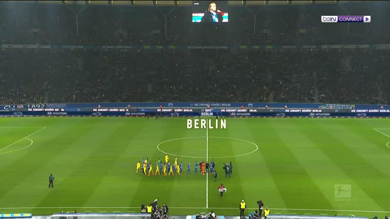 Hertha BSC 2-3 Borussia Dortmund