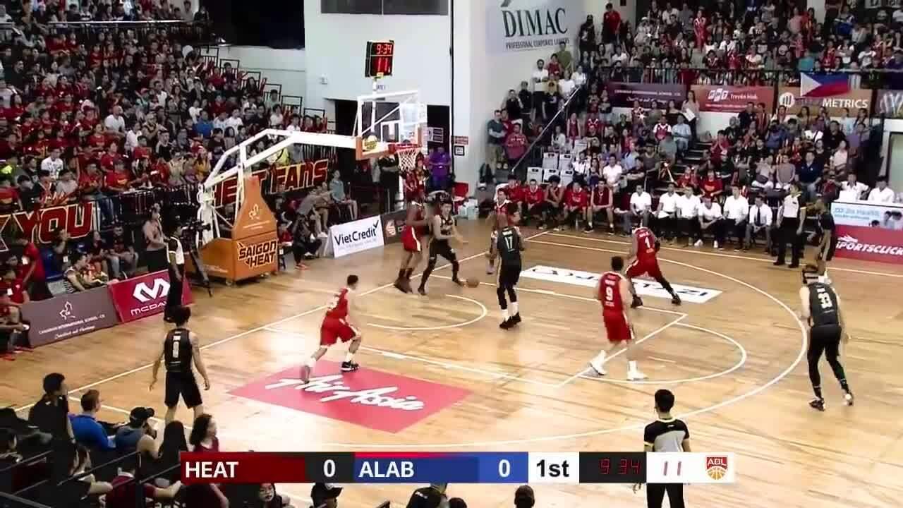 Saigon Heat thắng nghẹt thở 81-80 trước Alab Pilipinas