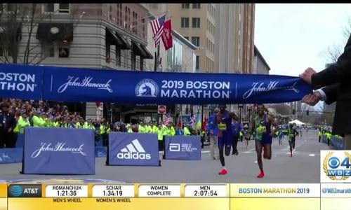 Cherono về đích nhanh hơn Lelisa 2 giây tại Boston Marathon