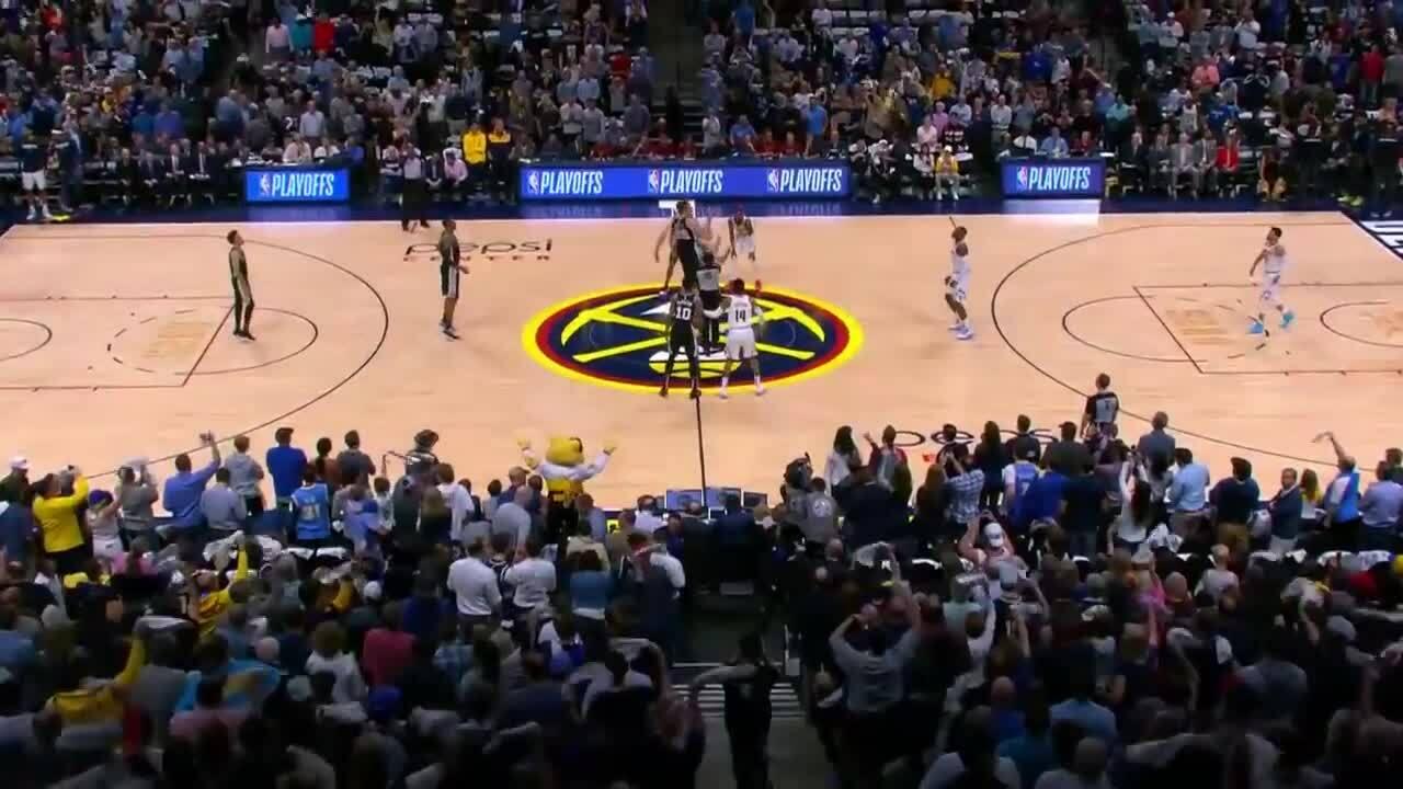 Diễn biến chính game 2 trận Nuggets – Spurs