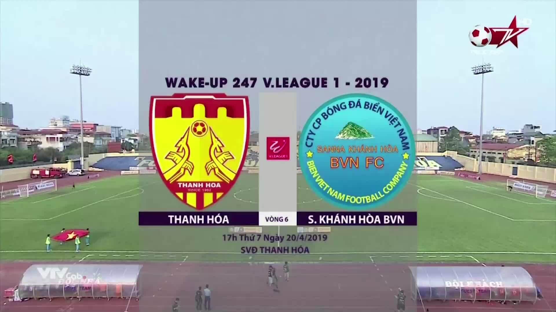 Thanh Hóa 2-2 Khánh Hòa