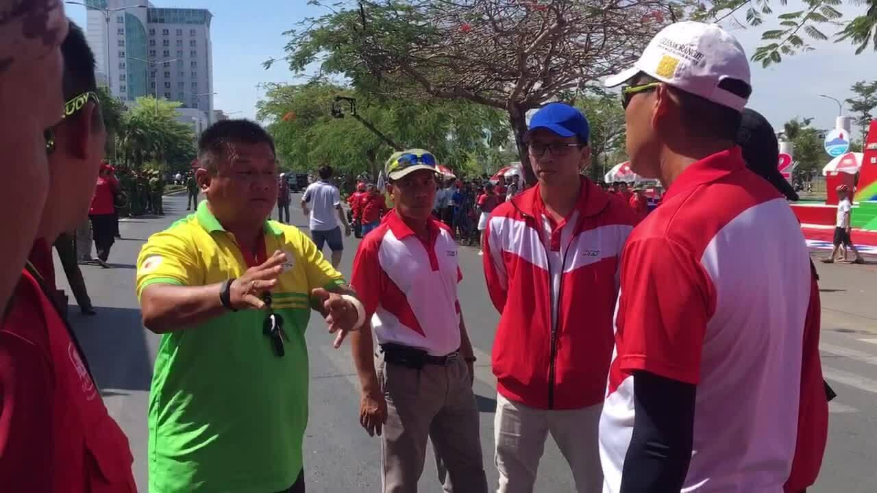HLV An Giang phản ứng BTC Cup HTV