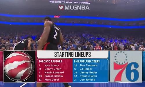 76ers nắm lợi thế tại bán kết play-off miền Đông NBA