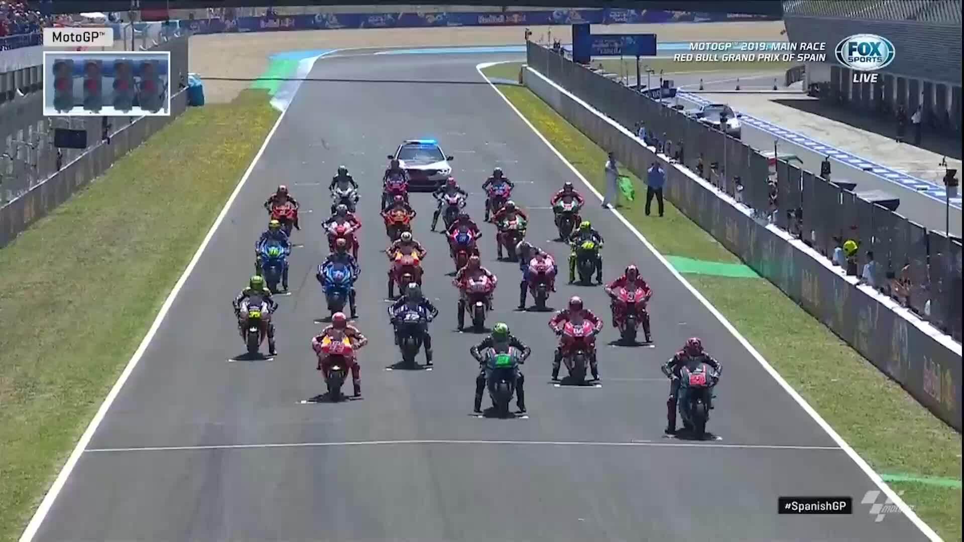 Marquez về nhất tại Tây Ban Nha MotoGP