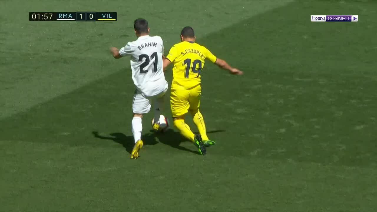 Real Madrid 3-2 Villarreal