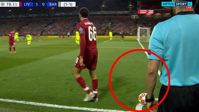 Đồ họa tình huống Liverpool nâng tỷ số lên 4-0 trước Barca