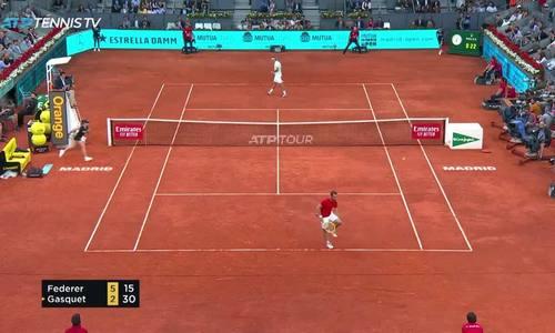 Roger Federer 2-0 Richard Gasquet