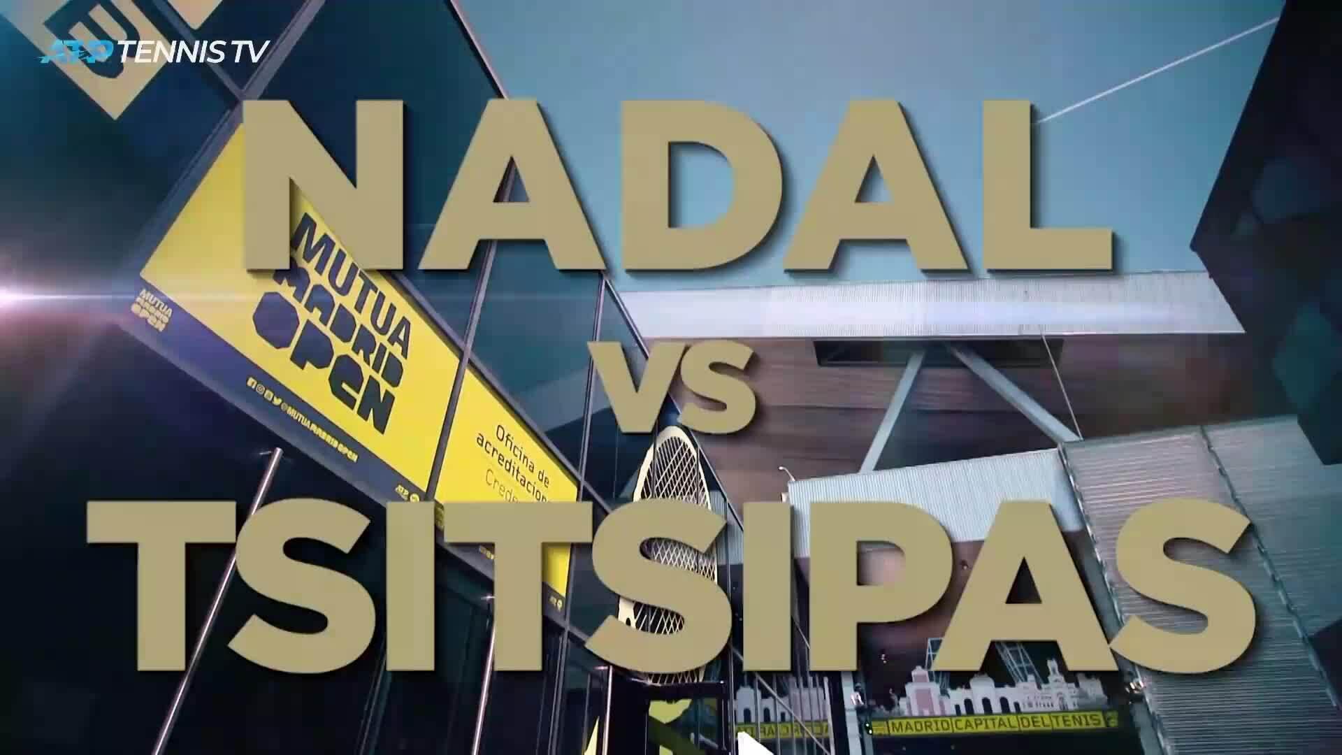 Stefanos Tsitsipas 2-1 Rafael Nadal