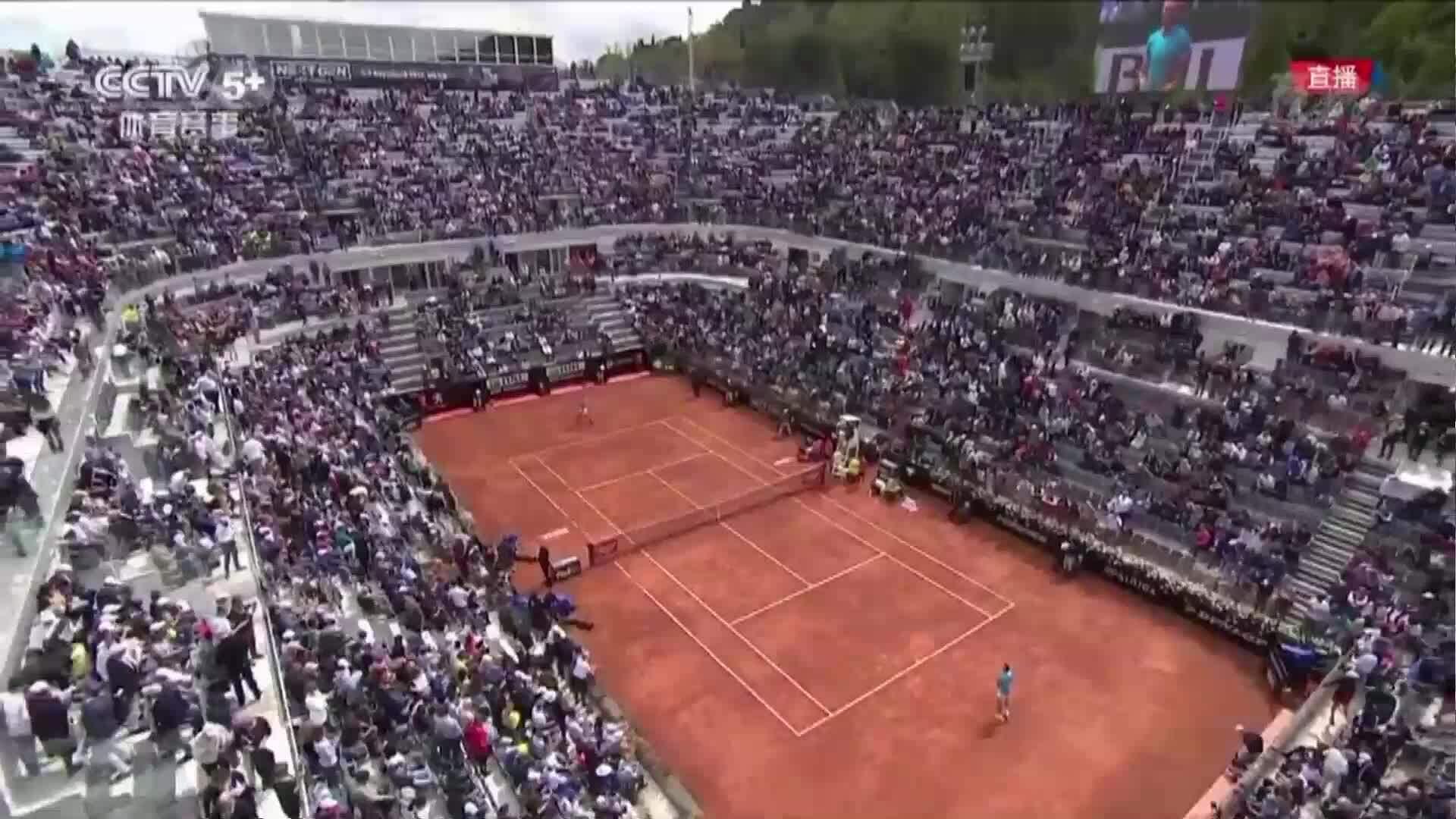 Stefanos Tsitsipas 0-2 Rafael Nadal