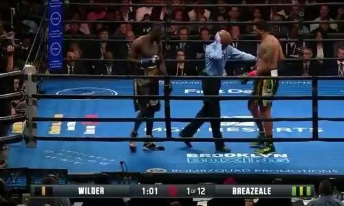 Deontay Wilder knock-out Breazeale 2019