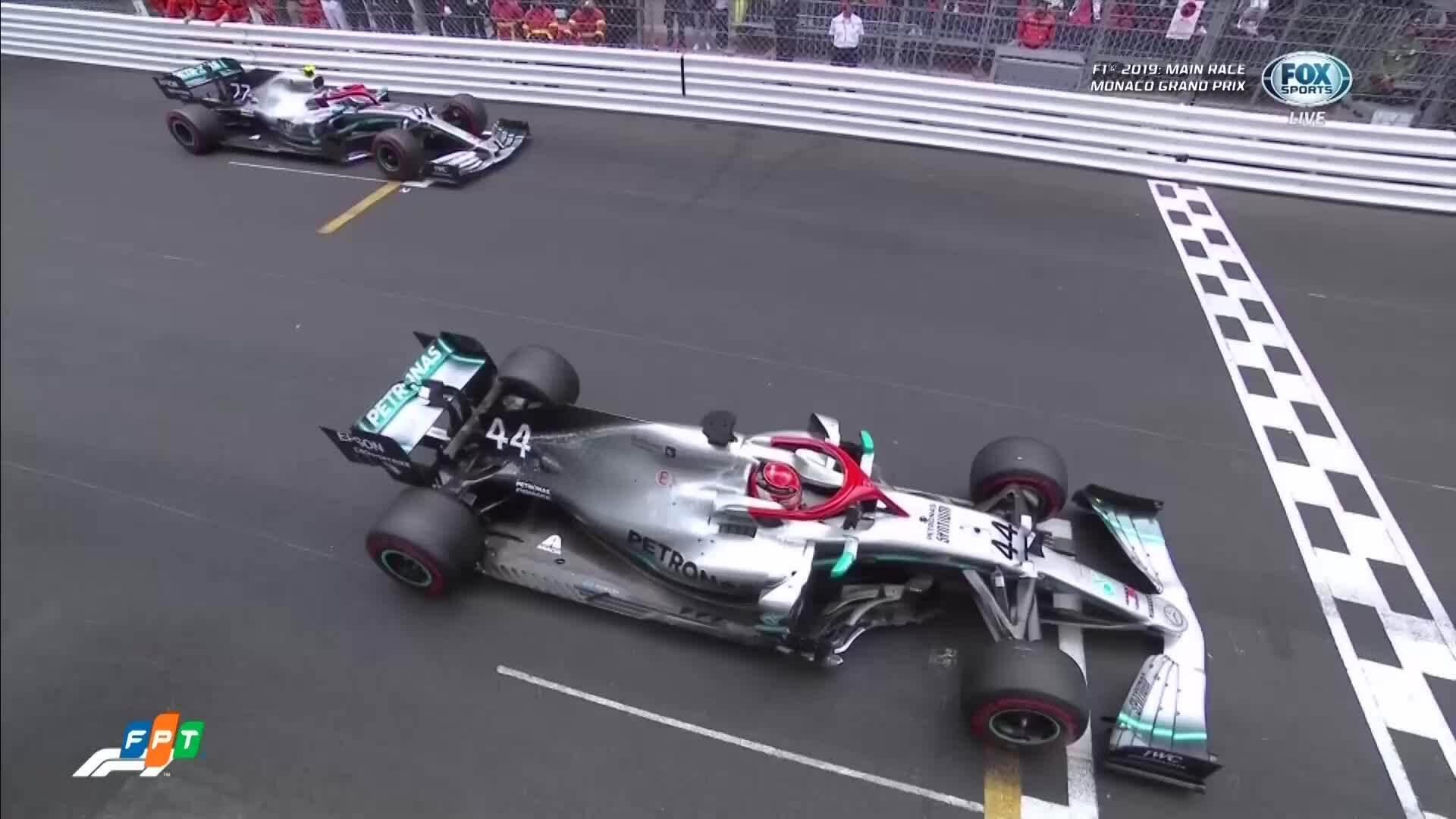 Hamilton giành chiến thắng tại MonacoGP