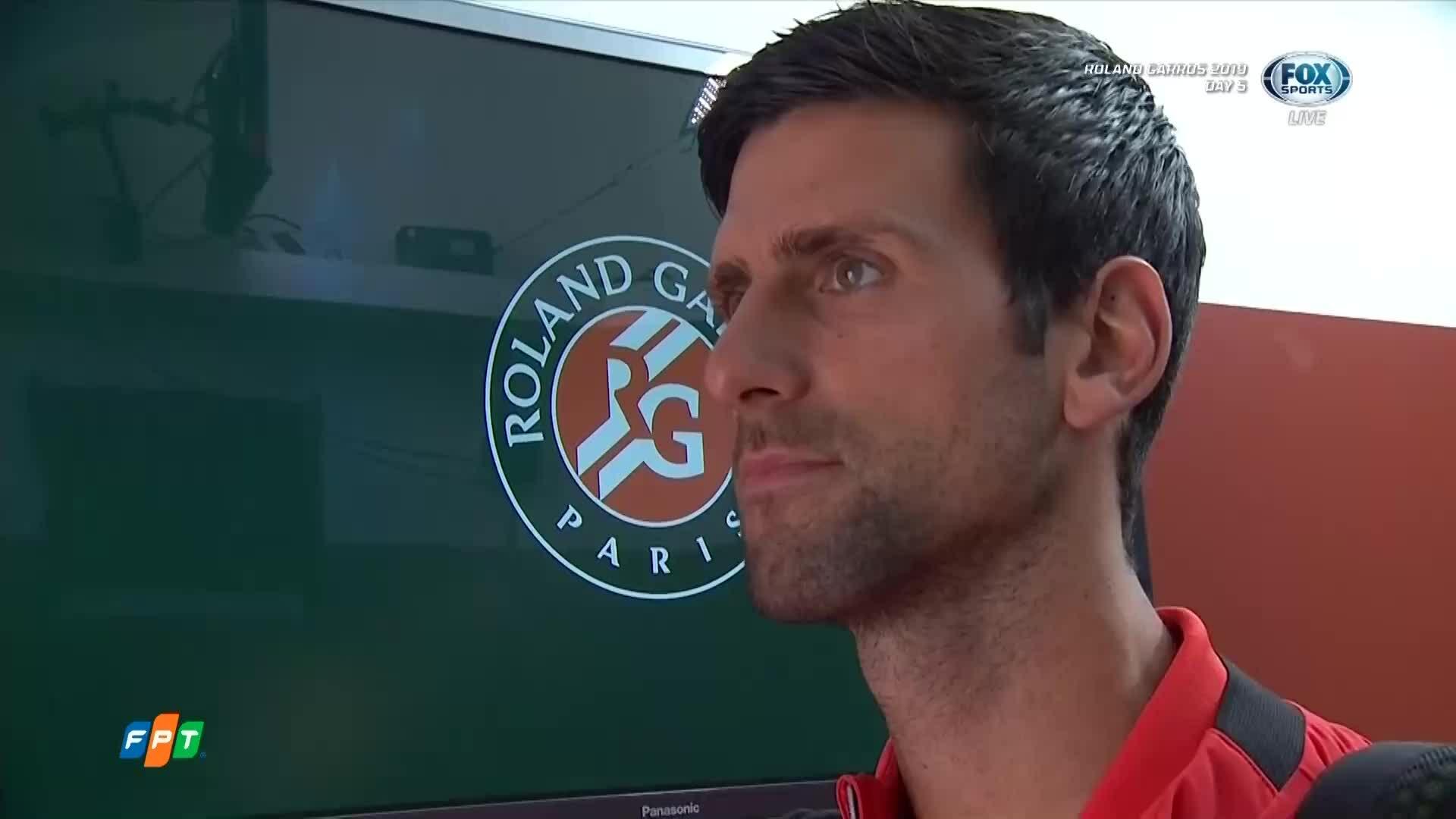 Novak Djokovic 3-0 Henri Laaksonen