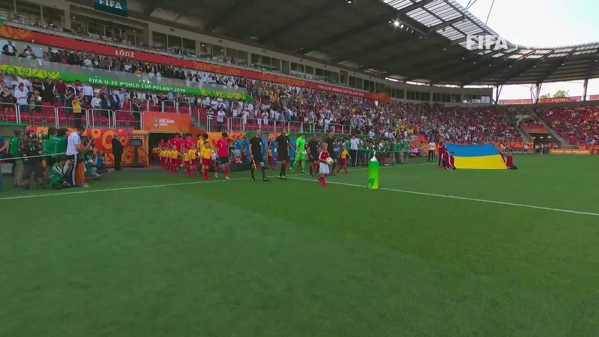 U20 Ukraine 3-1 U20 Hàn Quốc