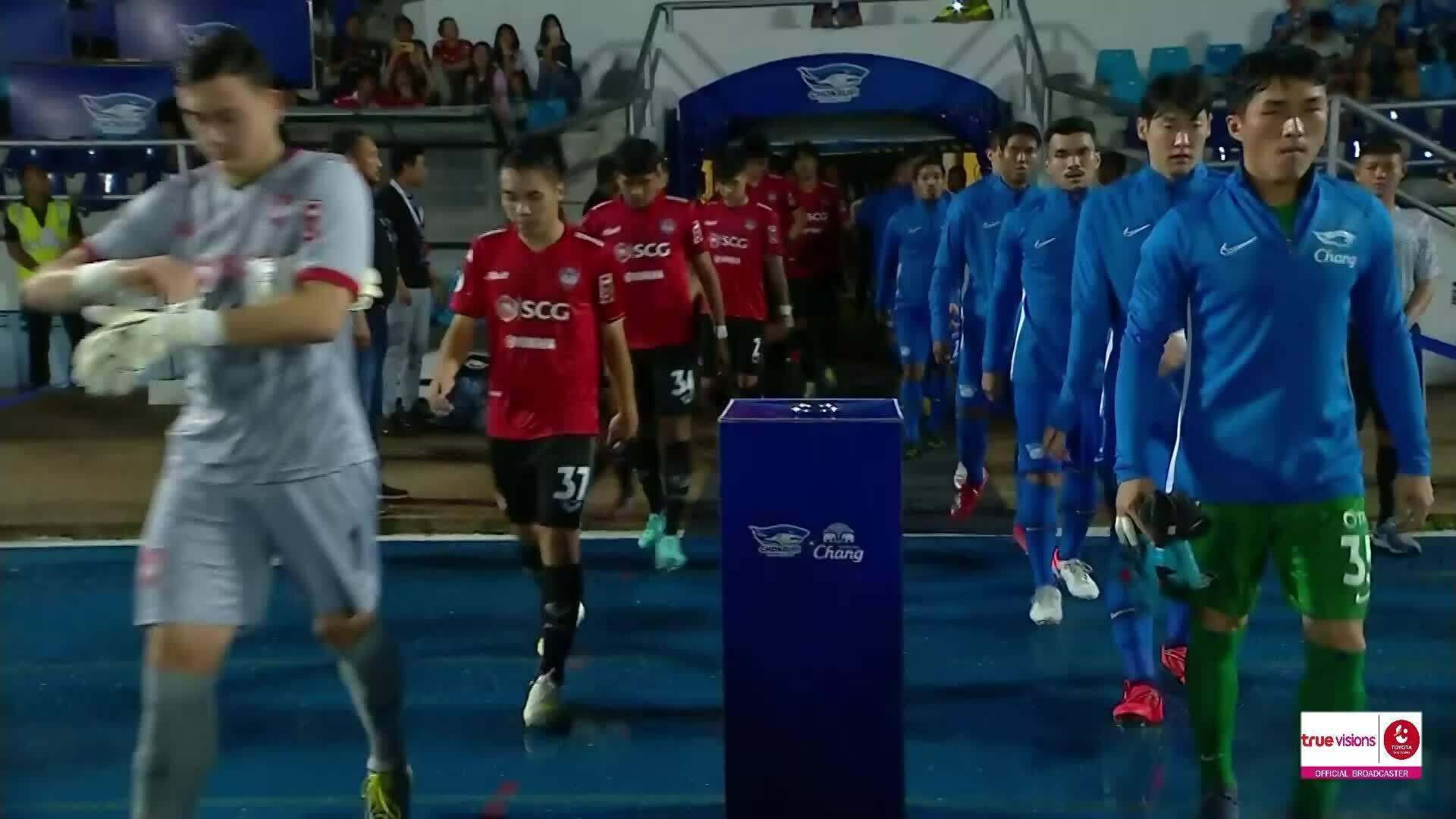 Chonburi 2-0 Muangthong United