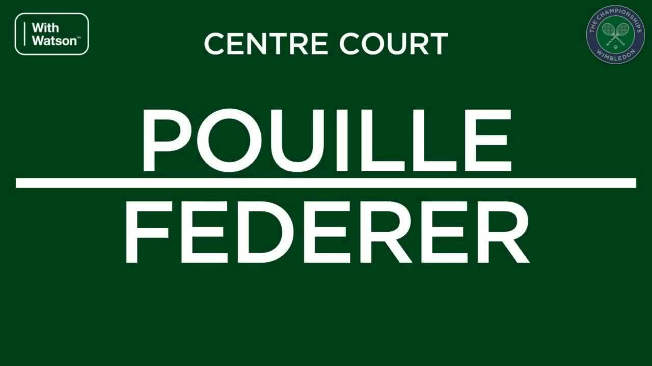 Roger Federer 3-0 Lucas Pouille