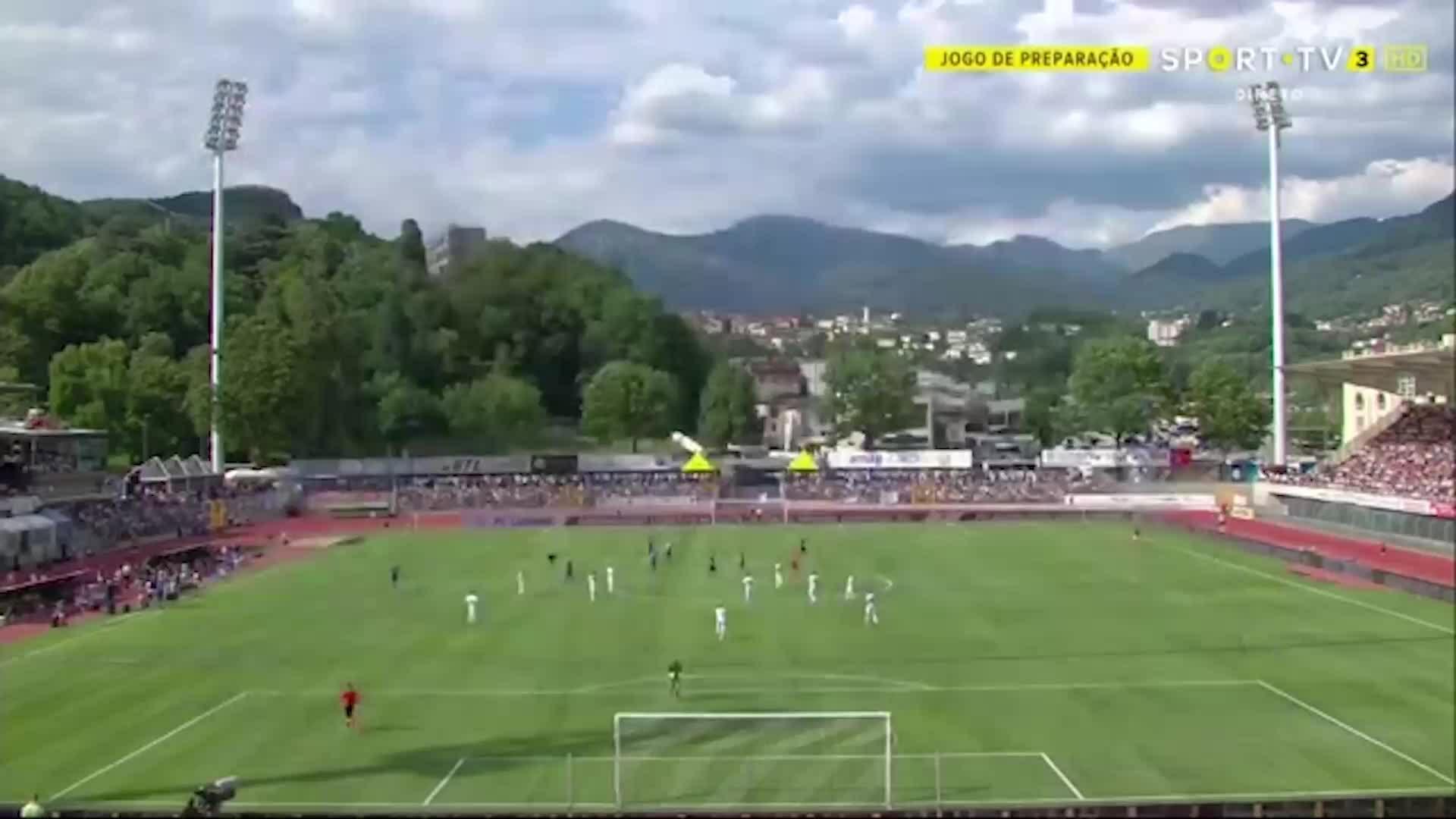 Lugano 1-2 Inter Milan