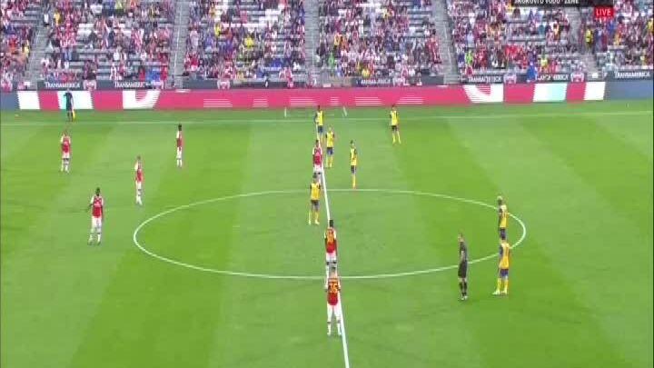 Colorado Rapids 0-3 Arsenal