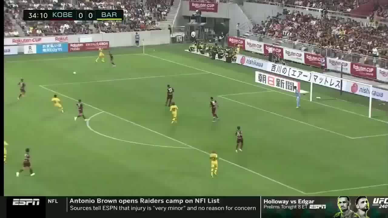 Vissel Kobe 0-2 Barcelona
