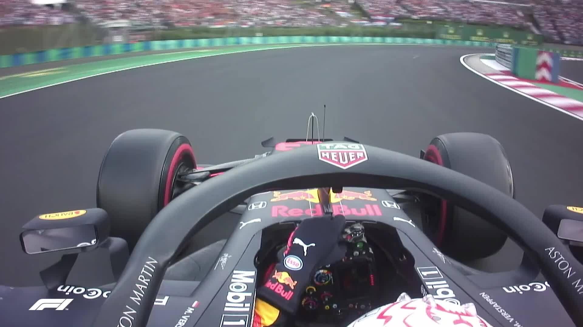 Verstappen lần đầu giành pole ở Hungary