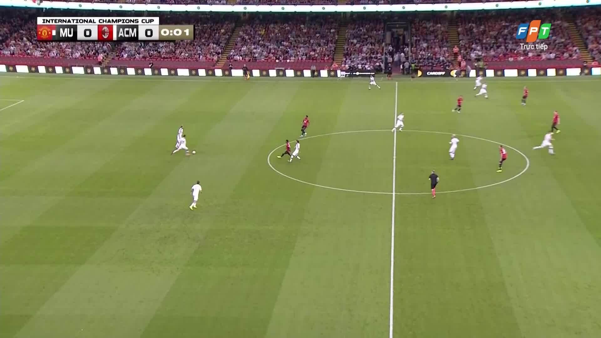Man Utd 2-2 AC Milan (pen 5-4)