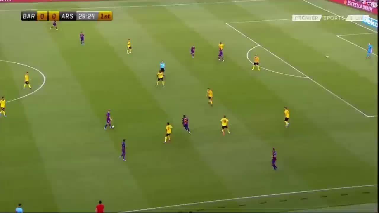 Barca 2-1 Arsenal