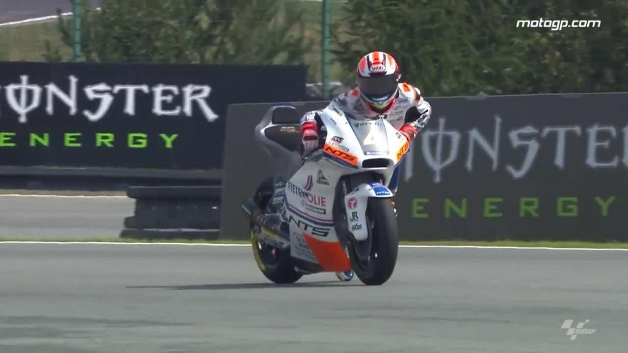 Tay đua thoát nạn tại giải MotoGP 2
