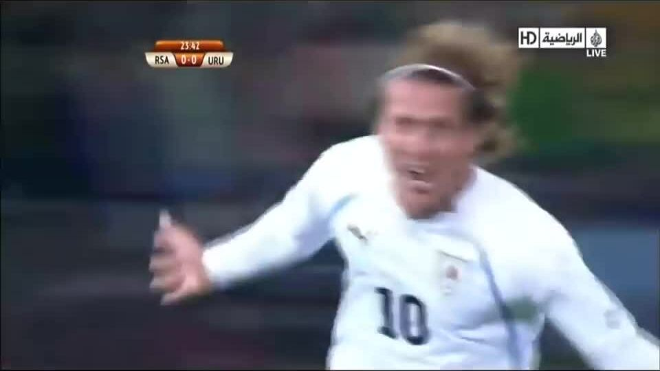 5 bàn thắng của Diego Forlan ở World Cup 2010