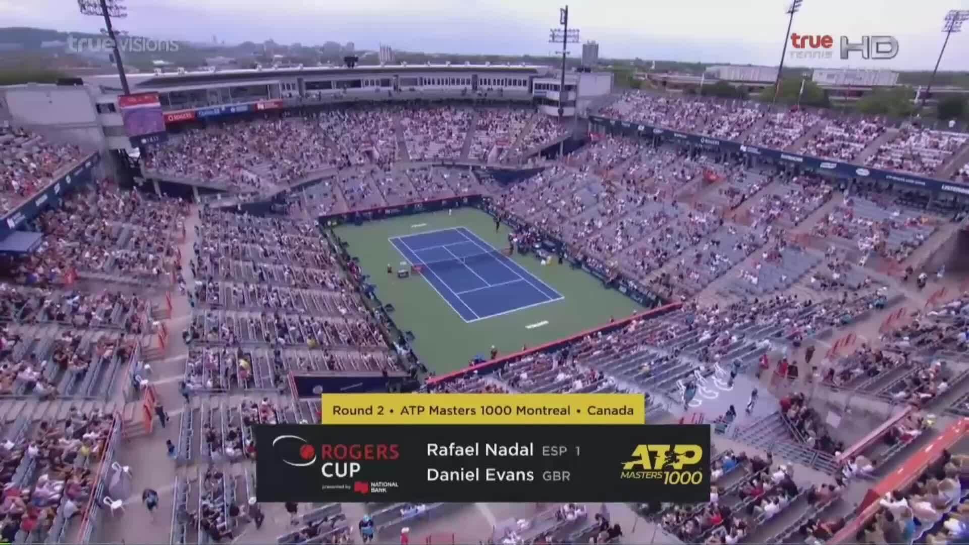 Rafael Nadal 2-0 Dan Evans