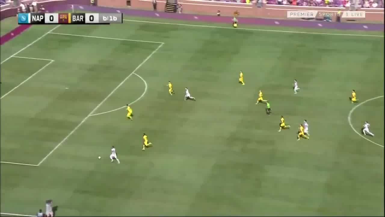 Napoli 0-4 Barcelona