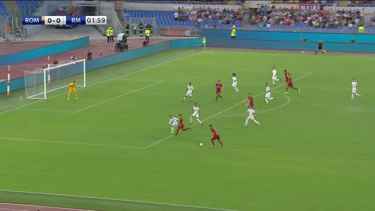 Roma 2-2 Real Madrid (pen 5-4)