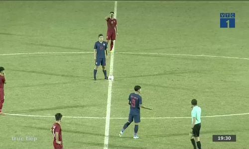 U18 Việt Nam 0-0 U18 Thái Lan