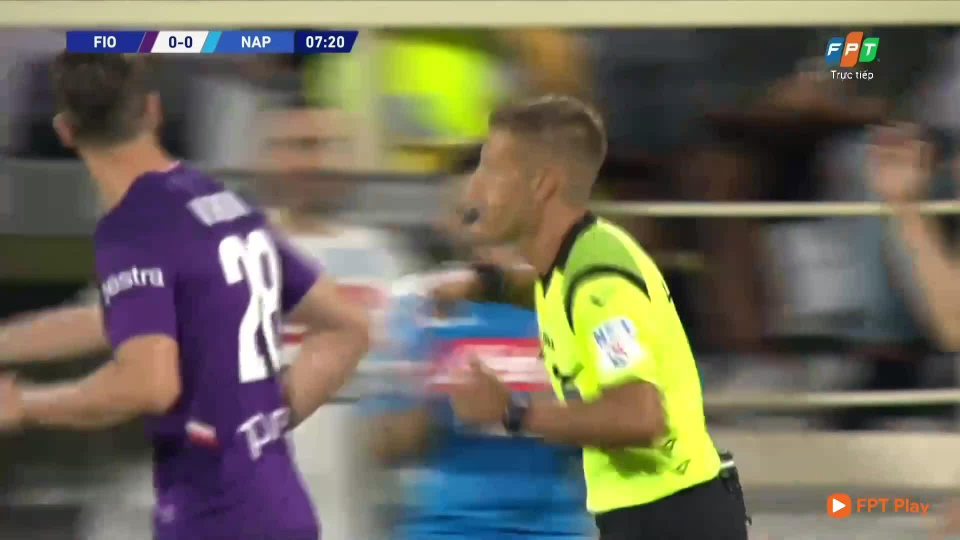 Fiorentina 3-4 Napoli