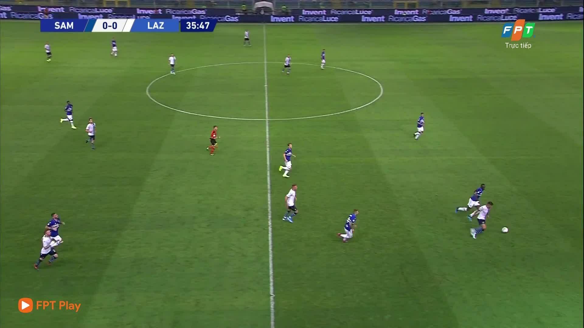 Sampdoria 0-3 Lazio