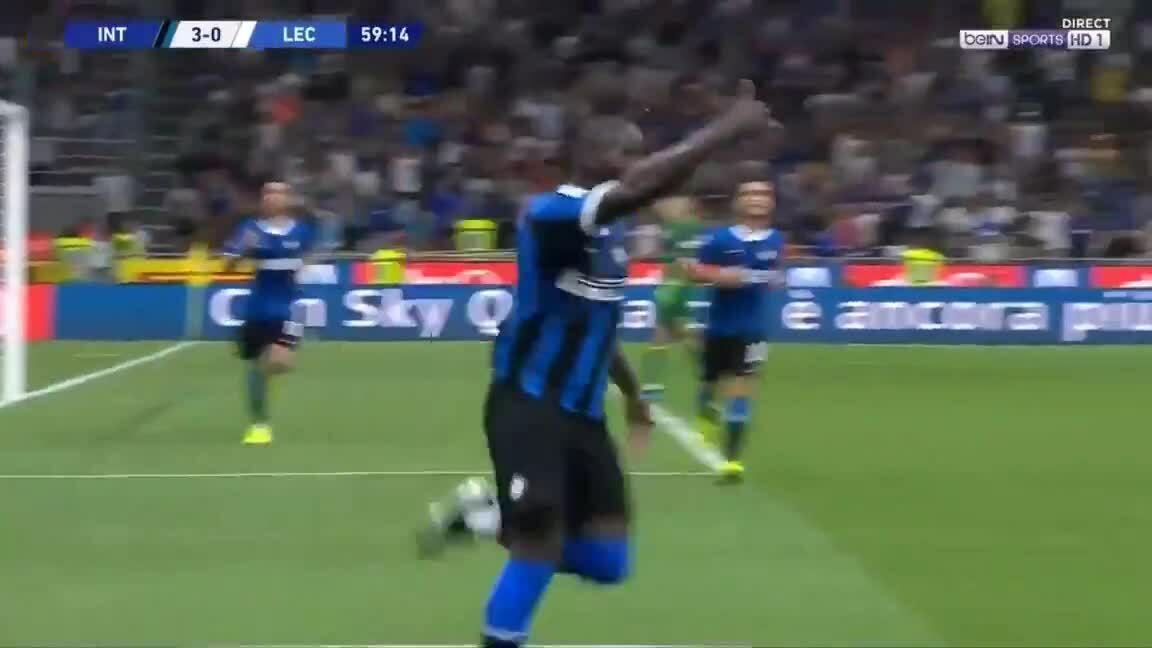 Lukaku nâng tỷ số lên 3-0 cho Inter
