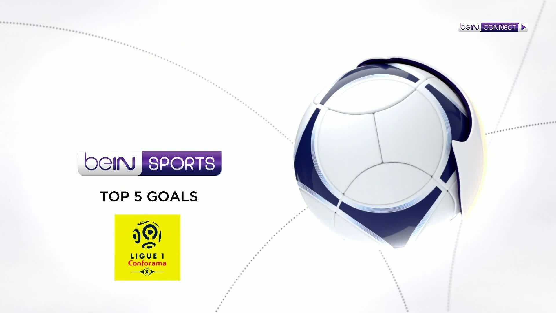 Top 5 bàn thắng vòng bốn Ligue 1