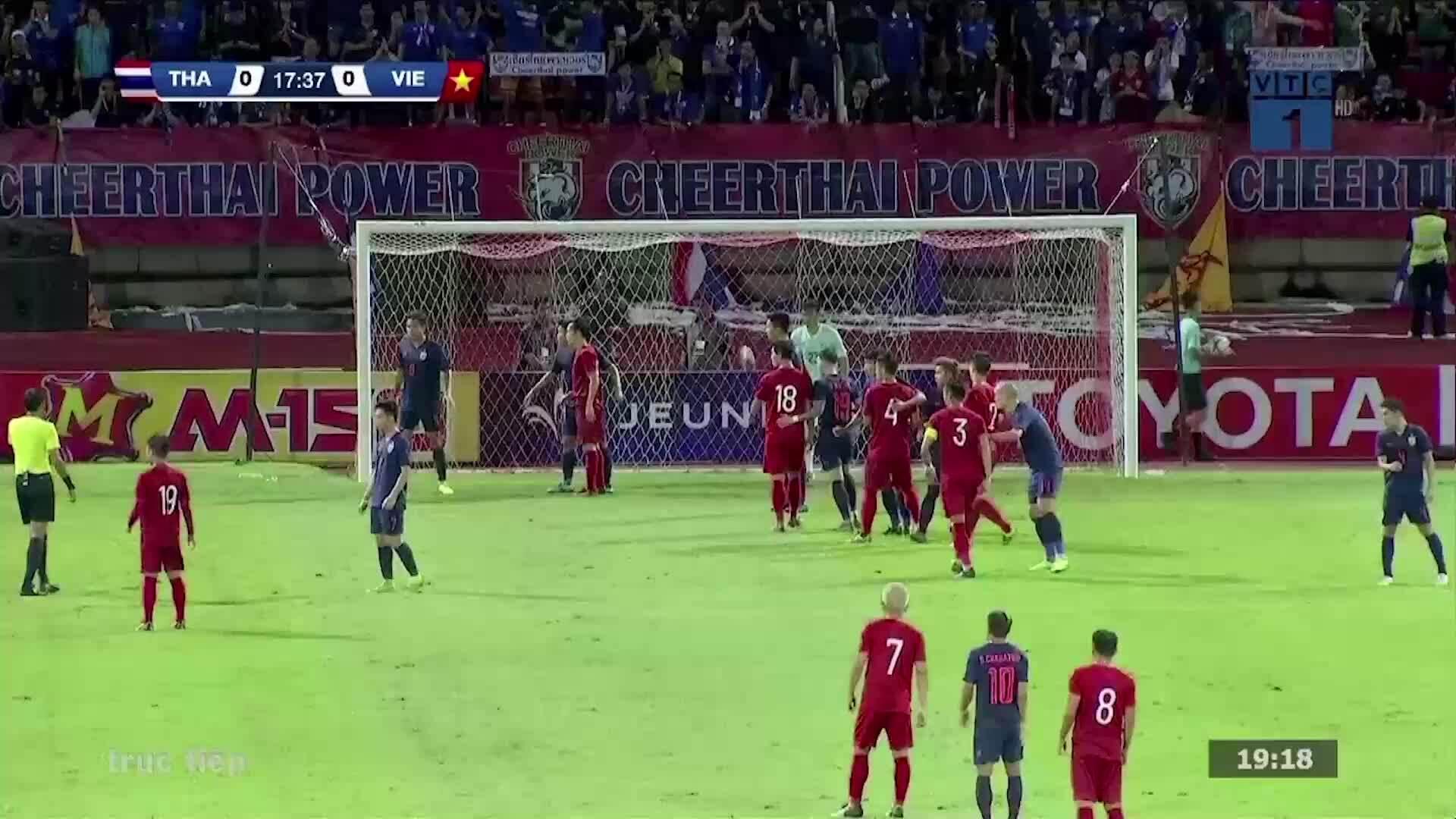 Những pha bóng của Tuấn Anh trong trận gặp Thái Lan