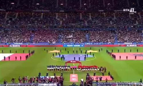 Cầu thủ Albania bối rối vì BTC phát nhầm quốc ca Andorra