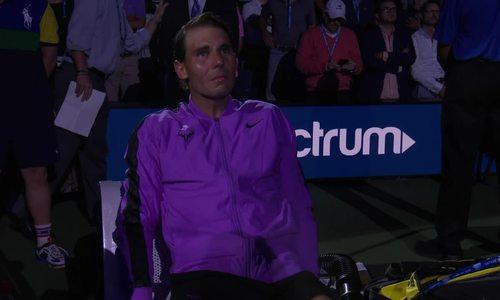 Nadal bật khóc sau chức vô địch Mỹ Mở rộng