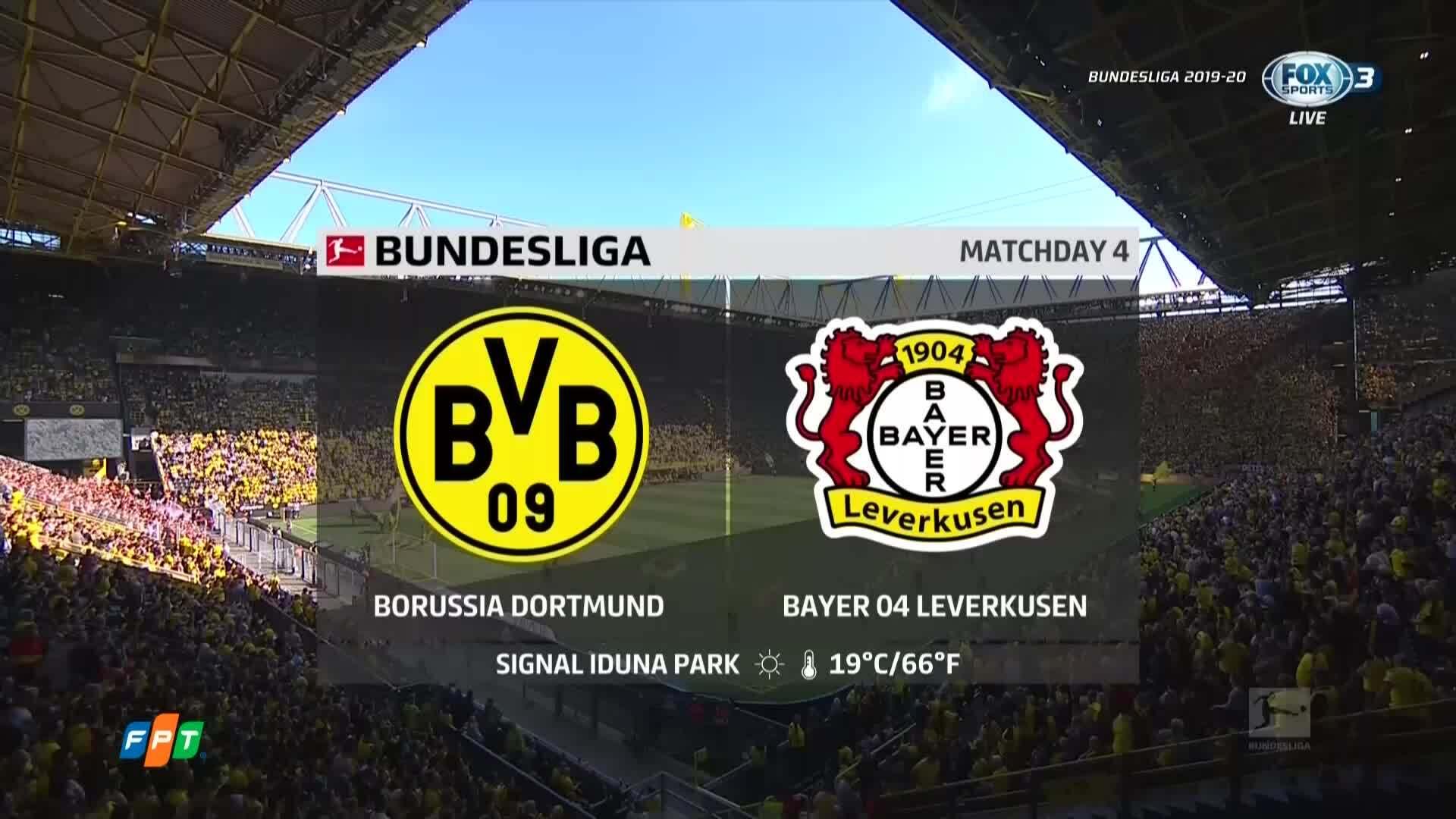 Dortmund 4-0 Leverkusen