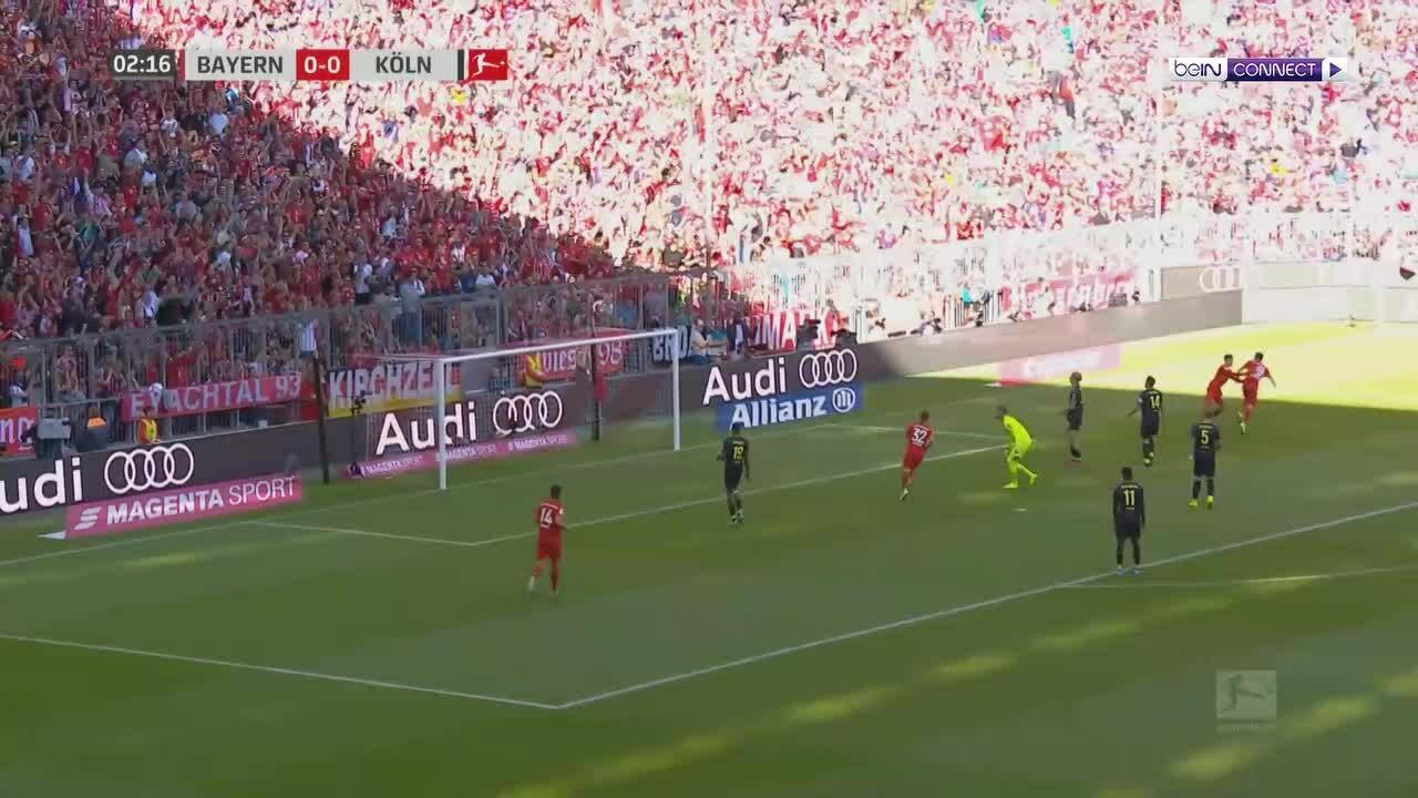 Bayern 4-0 Cologne